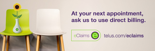 Direct online billing from telus e-Claims, click here to sign up